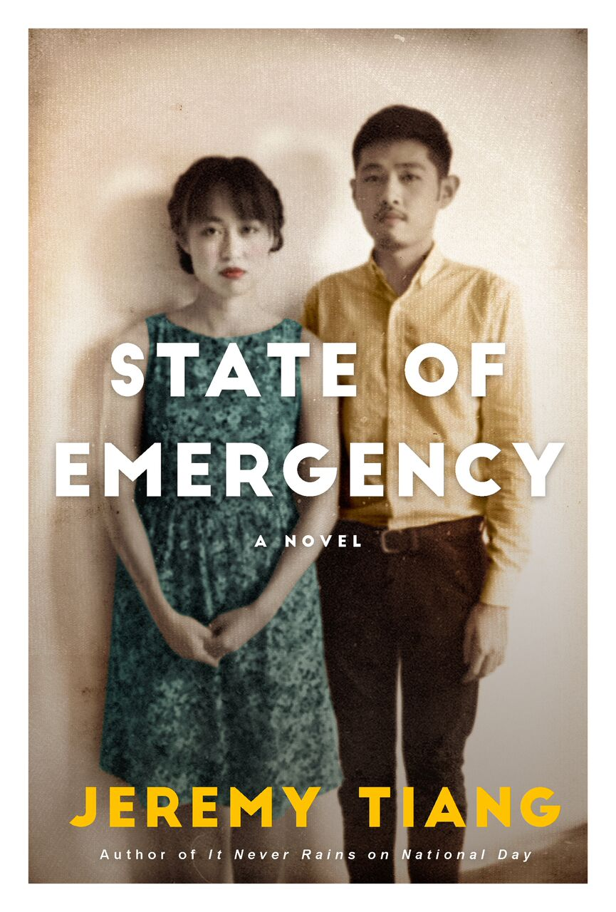 - STATE OF EMERGENCYJeremy TiangWinner of the 2018 Singapore Literature Prize, Jeremy Tiang's State of Emergency is an epic novel that spans events from the guerrilla war years of the Malayan Emergency in the late 1940s to the present day. At the centre of it all are the members of a Singaporean family who, when faced with incidents such as the 1965 MacDonald House bombing and the 1987 Marxist Conspiracy, find themselves having to navigate the choppy political currents of the region – even if it threatens to tear them apart, bit by bit.£10Historical fiction978-1-91-209865-1November 2017GET THE BOOK HERE