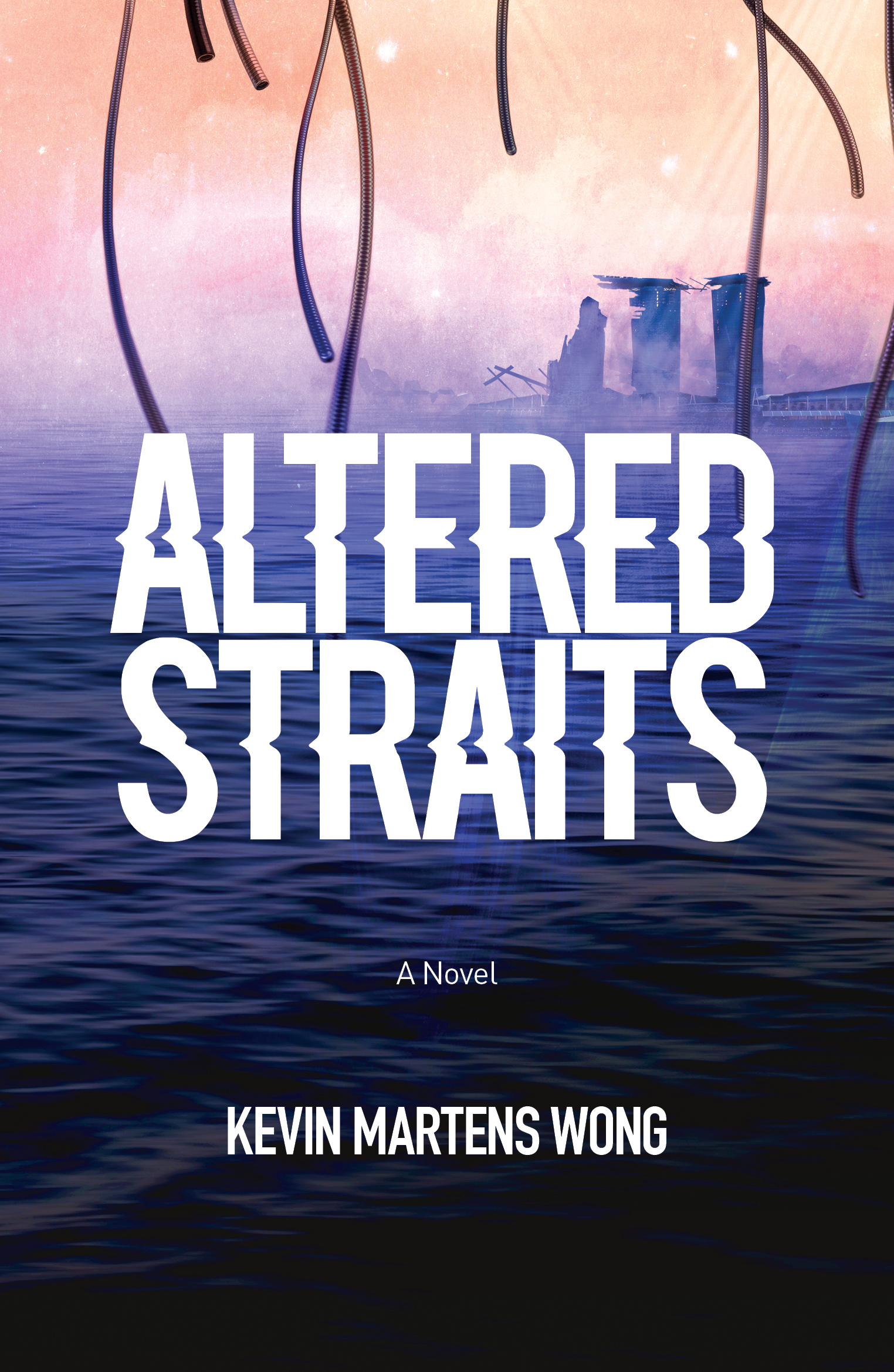 - ALTERED STRAITSKevin Martens WongIn an alternate 1947 filled with mystical creatures, Singapuran boy-soldier Naufal Jazair is bonded to the merlion Bahana and enlisted in a war against an aggressive neighbour. Meanwhile, in a dystopian Singapore in 2047, SAF officer Titus Ang is tasked with entering Naufal's universe and retrieving a merlion to save the future of Singapore from the Concordance, a hive intelligence that is close to consuming what remains of humanity.£10Speculative fiction978-1-91-209860-6November 2018ORDER THE BOOK HERE