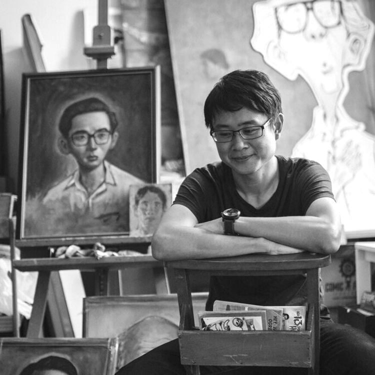 SONNY LIEW - Sonny Liew is a graphic novelist, painter and illustrator. His graphic novel, The Art of Charlie Chan Hock Chye won three Will Eisner Comics Industry Awards in 2017, after winning the Singapore Literature Prize and the Singapore Book Award the previous year. His other work includes the New York Times bestseller The Shadow Hero with Gene Luen Yang (First Second Books), My Faith in Frankie with Mike Carey (DC Vertigo), the Jane Austen adaptation Sense & Sensibility (Marvel Comics), and a Doctor Fate series with Paul Levitz (DC Comics). He has received Eisner nominations for his art and for spearheading Liquid City (Image Comics), a comics anthology featuring creators from Southeast Asia.