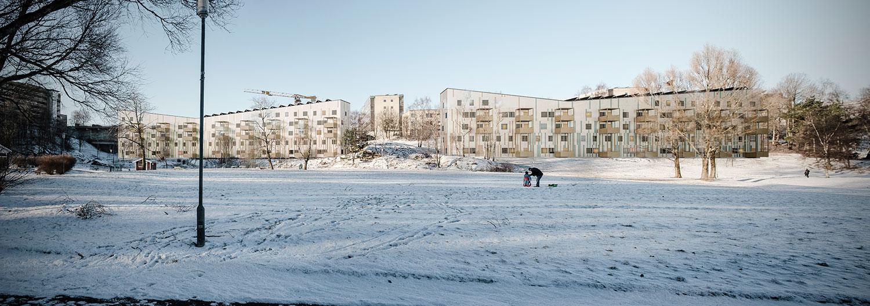 Bild från QPG:s pågående projekt för Generationsboendet i Gårdsten.