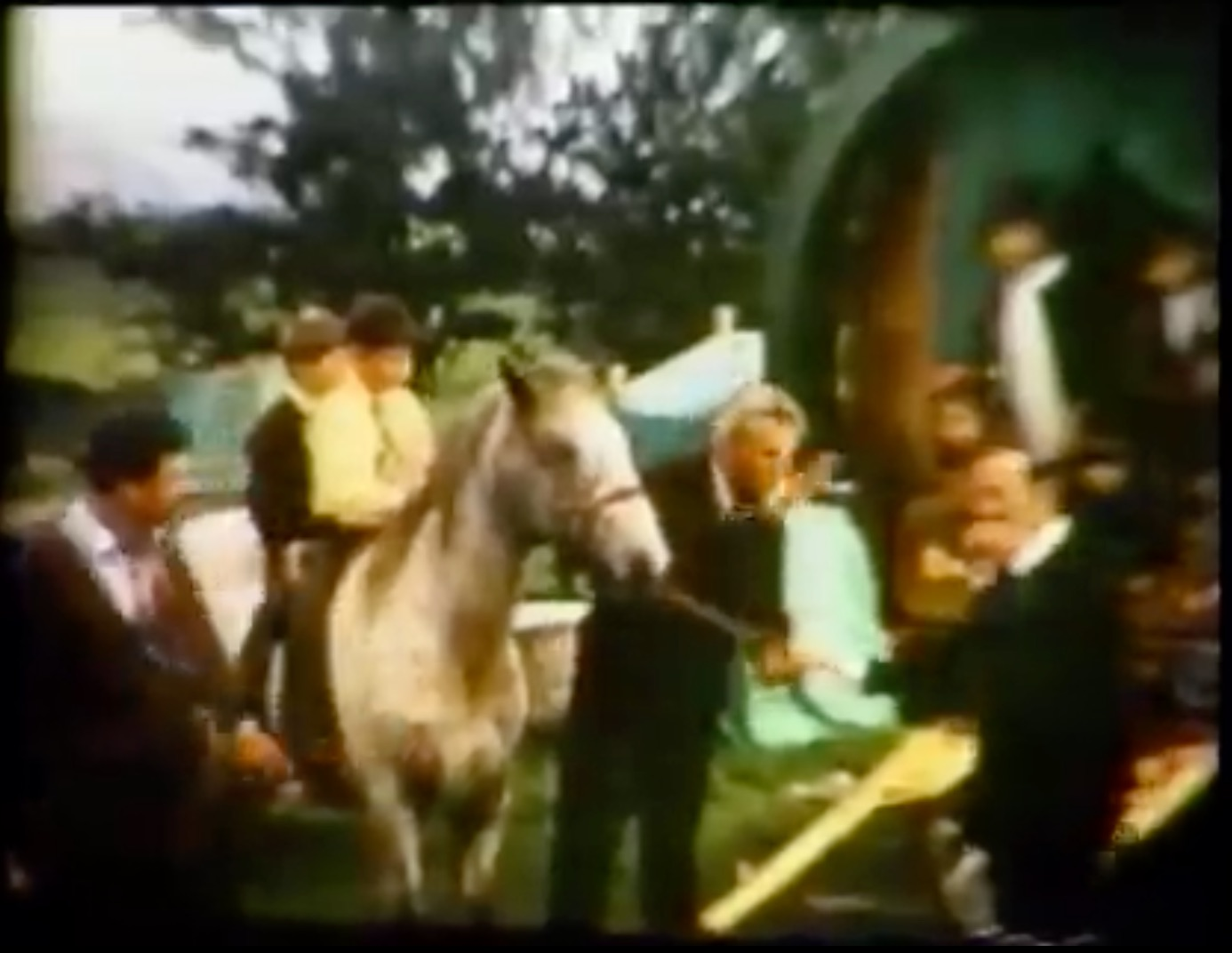Boswell family super 8 footage from 1960's