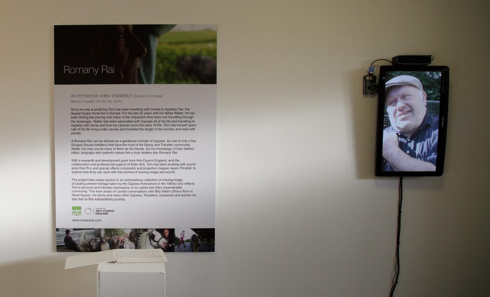 Room 2: Video portrait of horseman Sonny Thorpe from Chesterfield