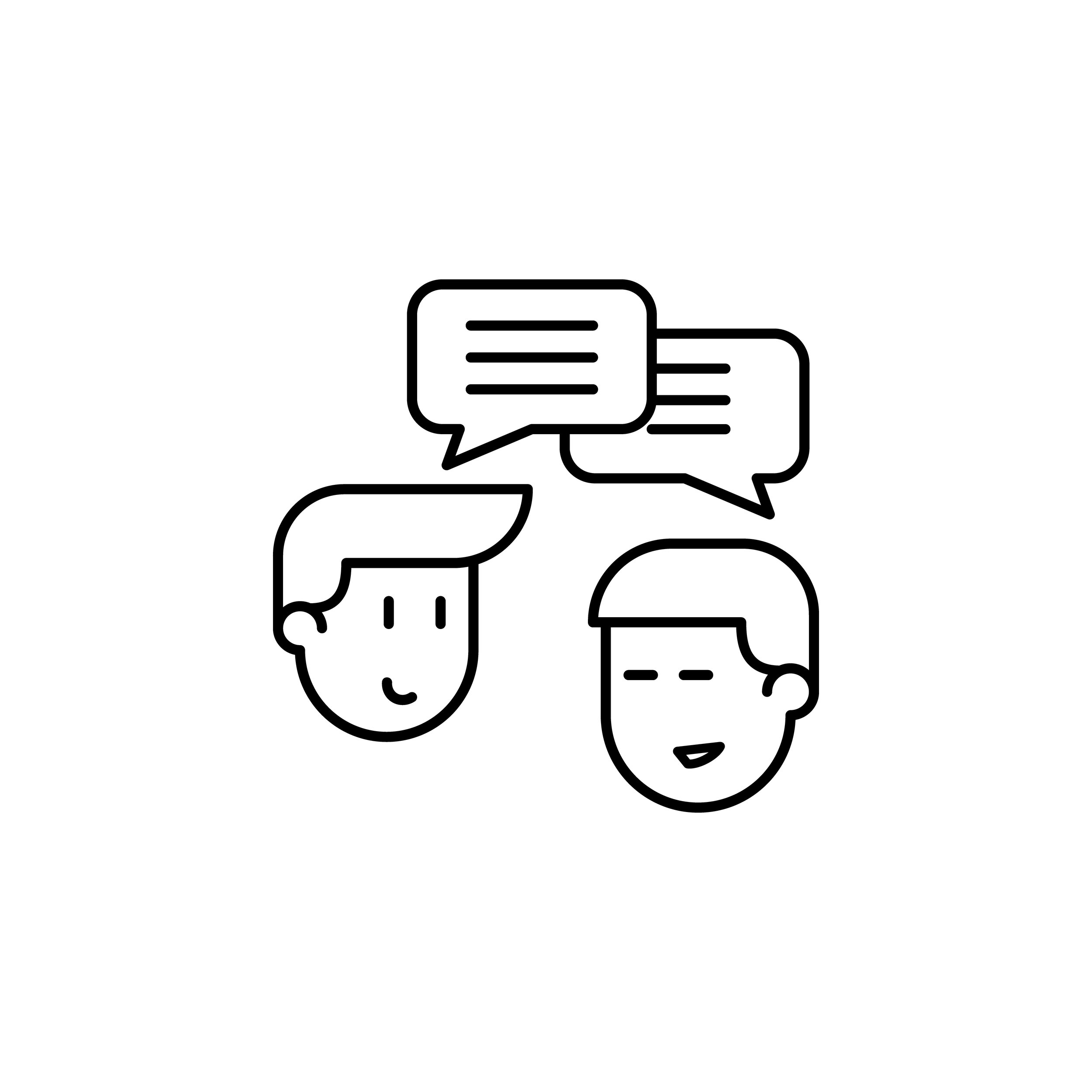 """""""Hire us"""" to get smarter in your skills and stronger in your courage.   We meet face-to-face, either in person or online.  (Otherwise called a """"consultation"""" or """"evaluation"""").  We listen to you: including the physical presentation of your speech-language communication, as well as the thoughts and feelings related to your communication.   More than just your speech, want to get to know who you are and what matters to you.    Together, we identify your goals, explore initial possibilities and begin the personal journey forward."""