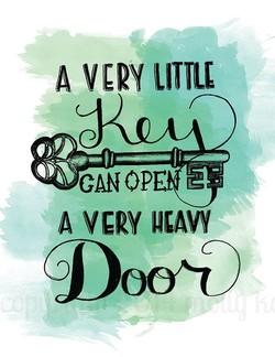 very little key open heavy door.jpg