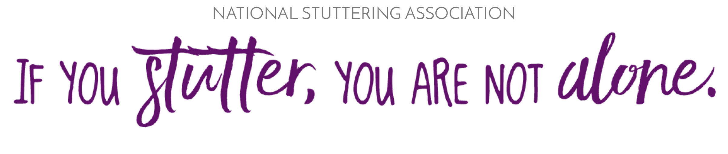 If you stutter you are not alone