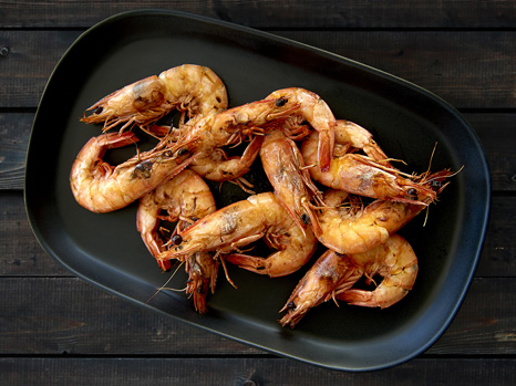 Grass Tree Kitchen's Char Grilled Prawns