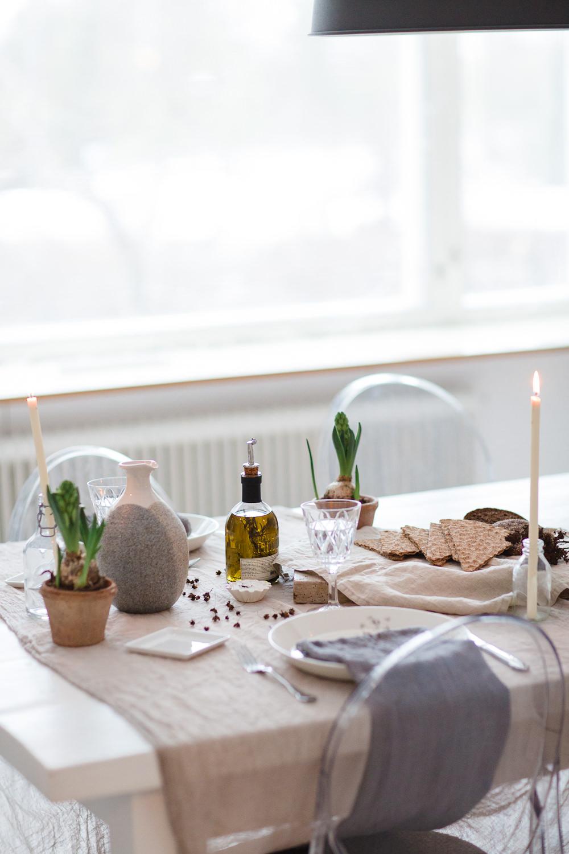 Table setting of Nellaino