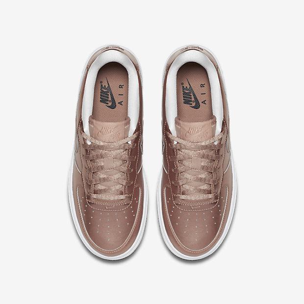Rose gold junior sneakers
