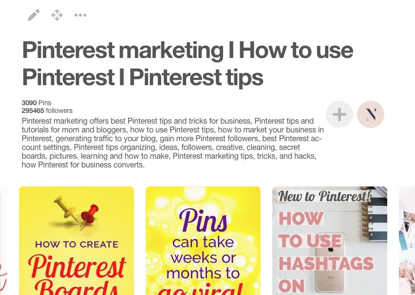 Pinterest marketing How to use Pinterest Pinterest tips by Nellaino