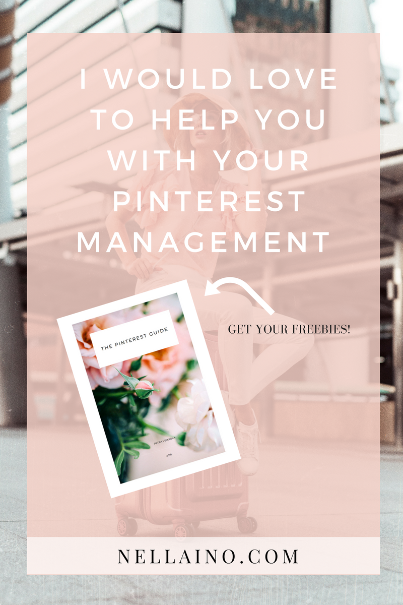 Pinterest management helper Visit www.nellaino.com