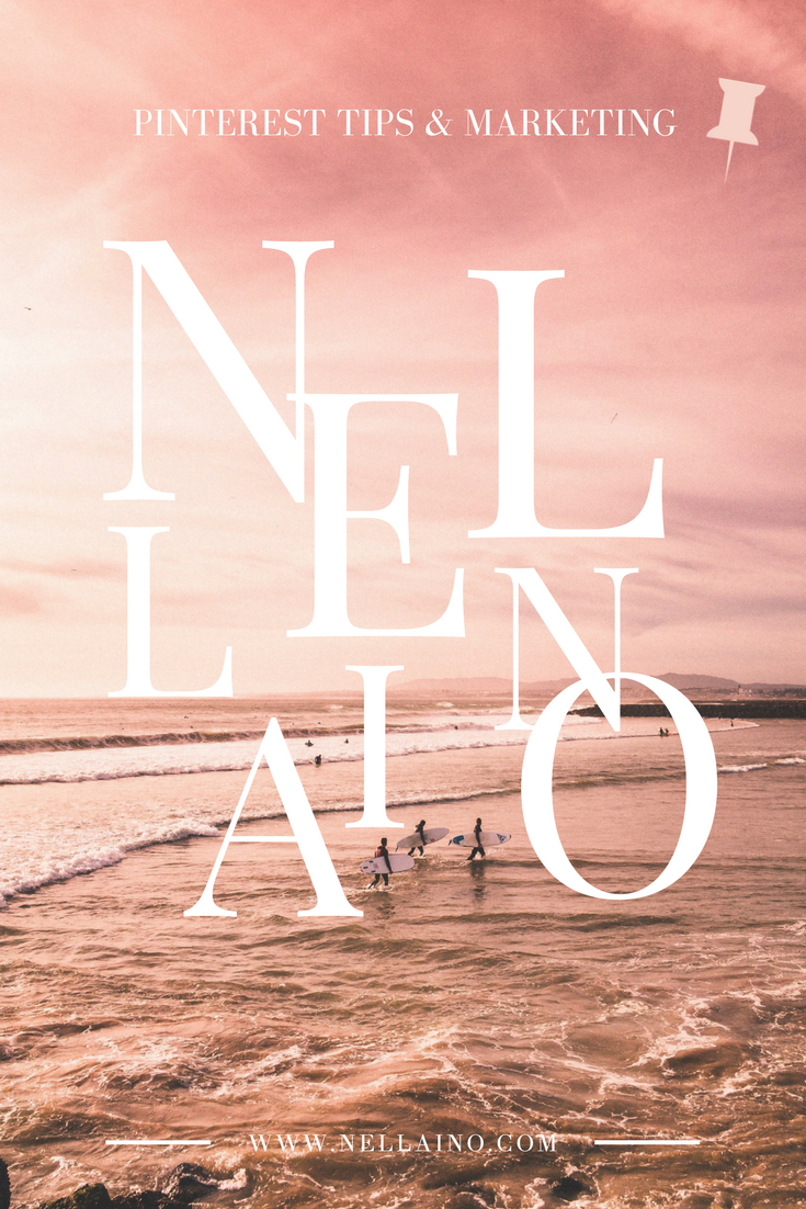 Nellaino - Pinterest marketing and tips for bloggers, content creators and businesses. Visit www.nellaino.com for more info and schedule your free consultancy call. #pinteresttips #pinterestmarketing #socialmediamarketing