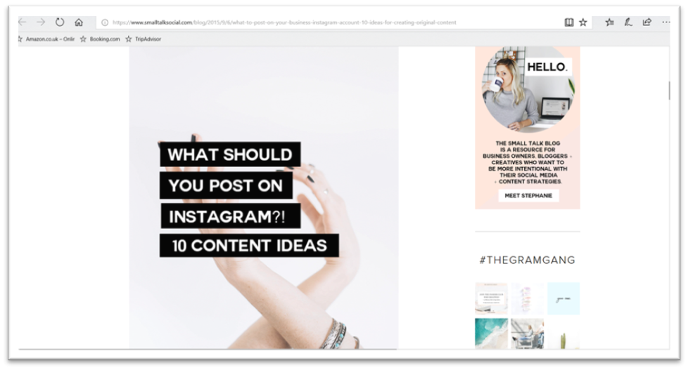 Instagram post size, template, ideas and dimensions