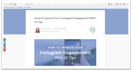10 Blogs which will help you make Instagram Marketing a Breeze