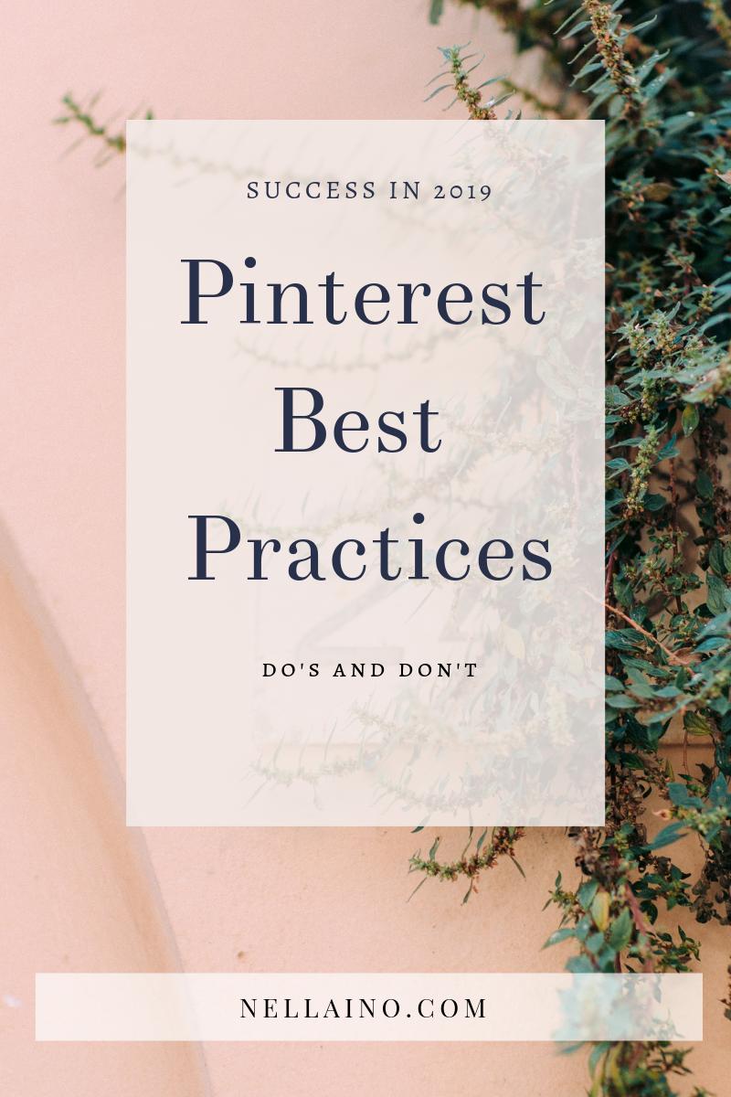 What's new on Pinterest? Learn the best tips from Nellaino. #pinterestmarketing