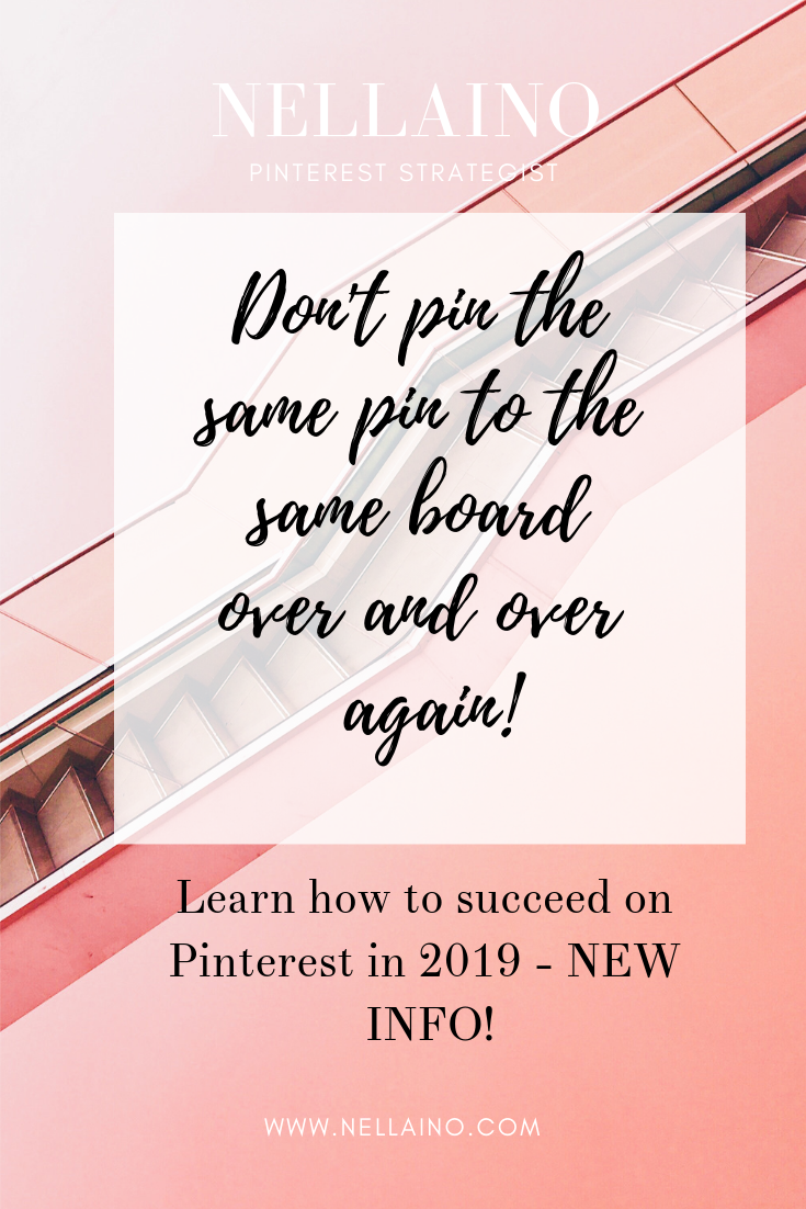 Leran the newest Pinterest tips from NELLAINO Pinterest Strategist www.nellaino.com Learn how to attract your dream clients on Pinterest #pinterestmarketing