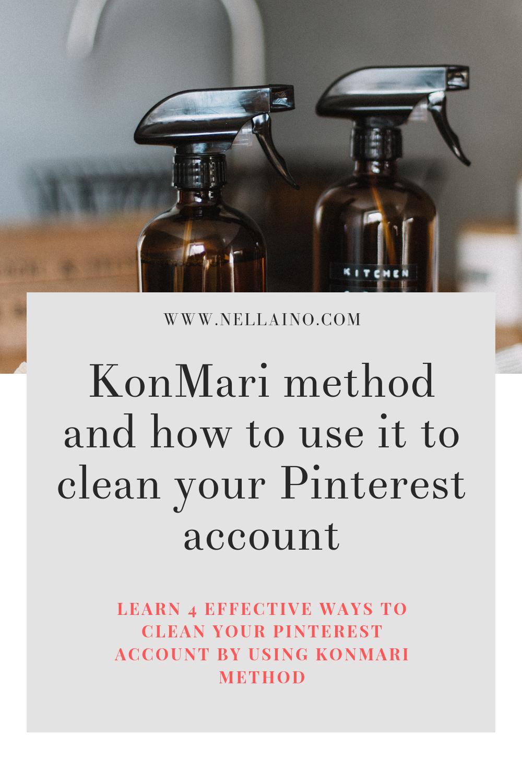 4 ways to use KonMari method to clean your Pinterest account