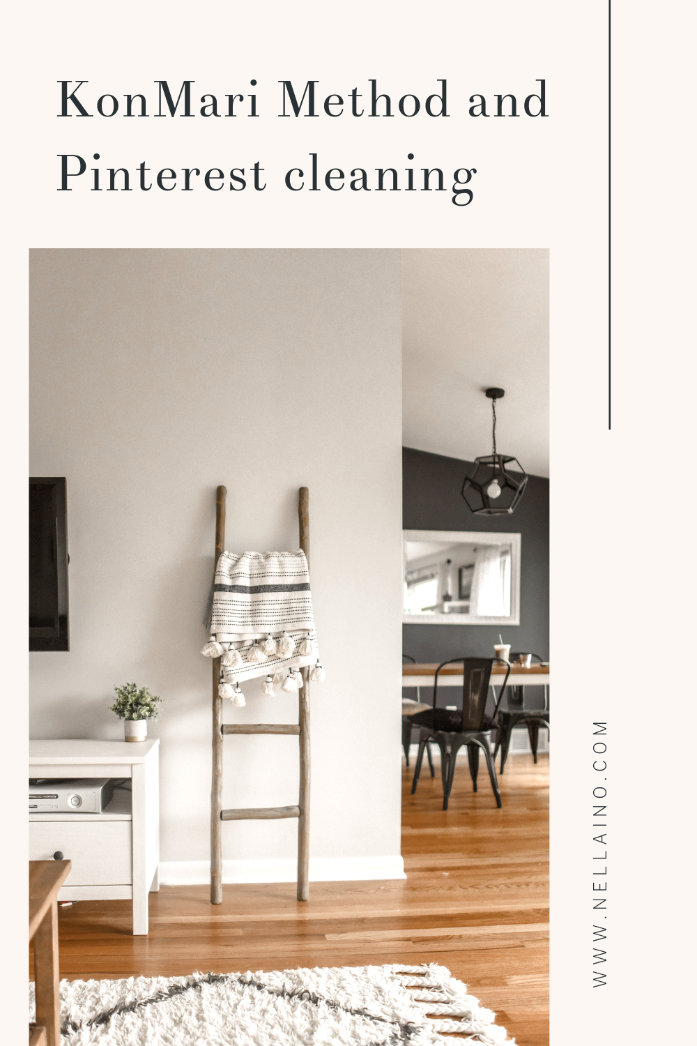 KonMari Method and Pinterest cleaning from Nellaino www.nellaino.com #konmarimethod #pinteresttips