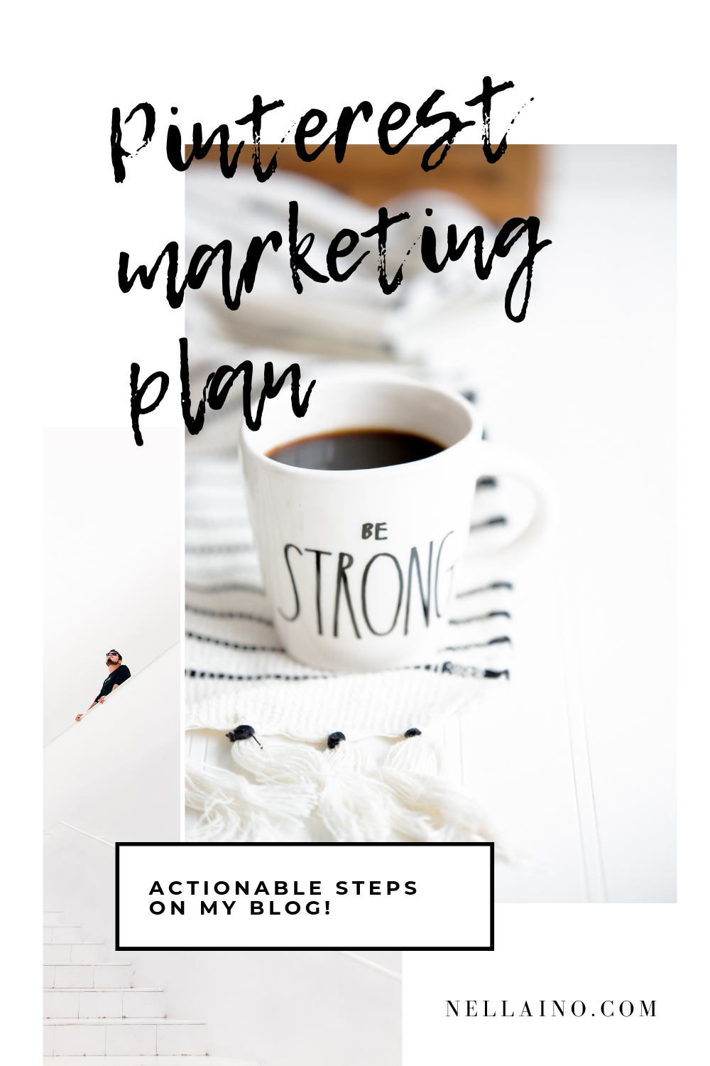 Strategic ways to use Pinterest and create Pinterest marketing plan with Nellaino. Check out the blog post and create your Pinterest plan now. www.nellaino.com #pinterestplan #pinterestmarketing