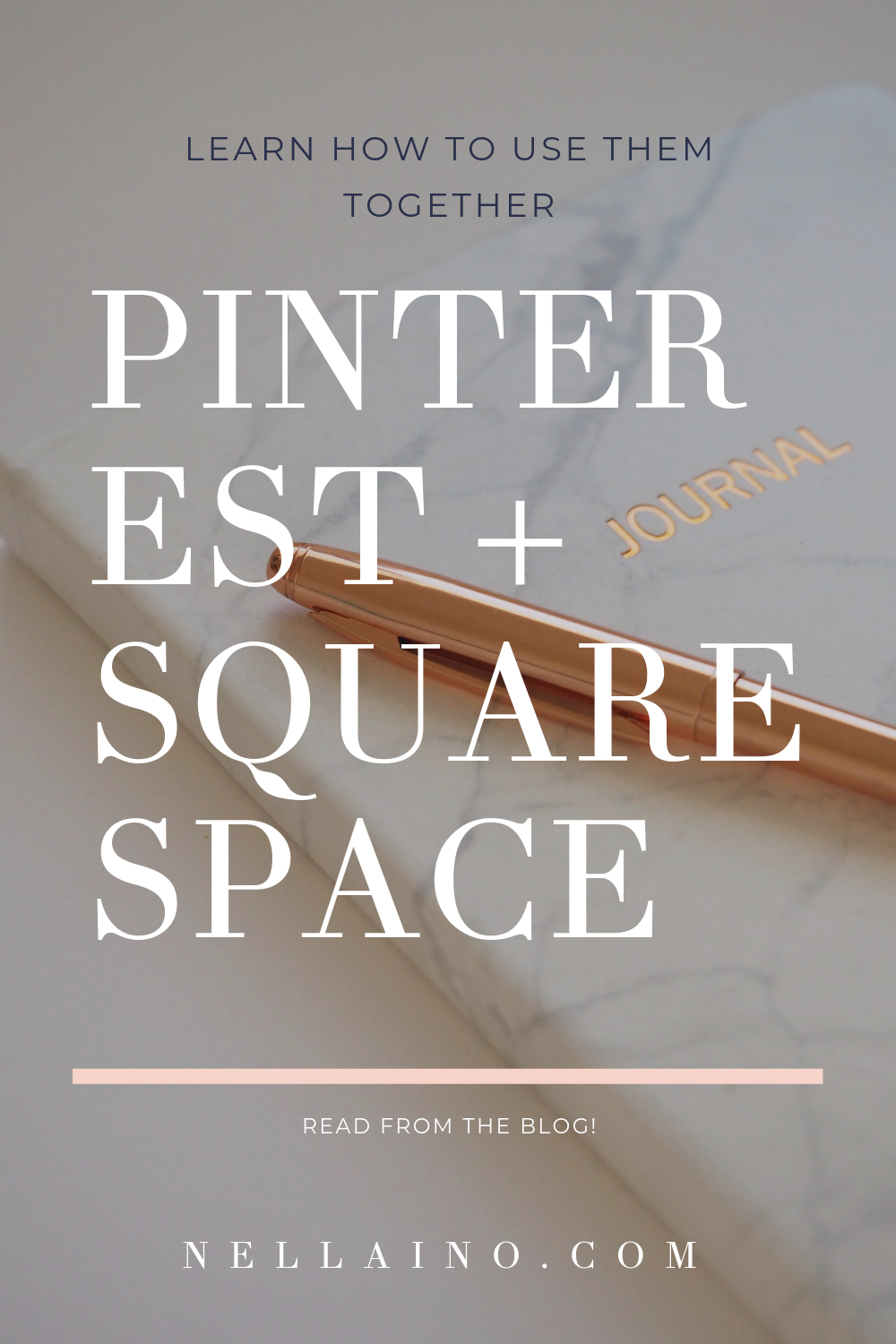 How to use Pinterest and Squarespace together? Learn my tips how to optimize your Squarespace website for Pinterest searches. www.nellaino.com/blog #squarespacetips #pinteresttips #website #nellaino