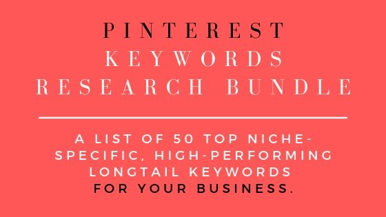 PINTEREST KEYWORDS RESEARCH BUNDLE