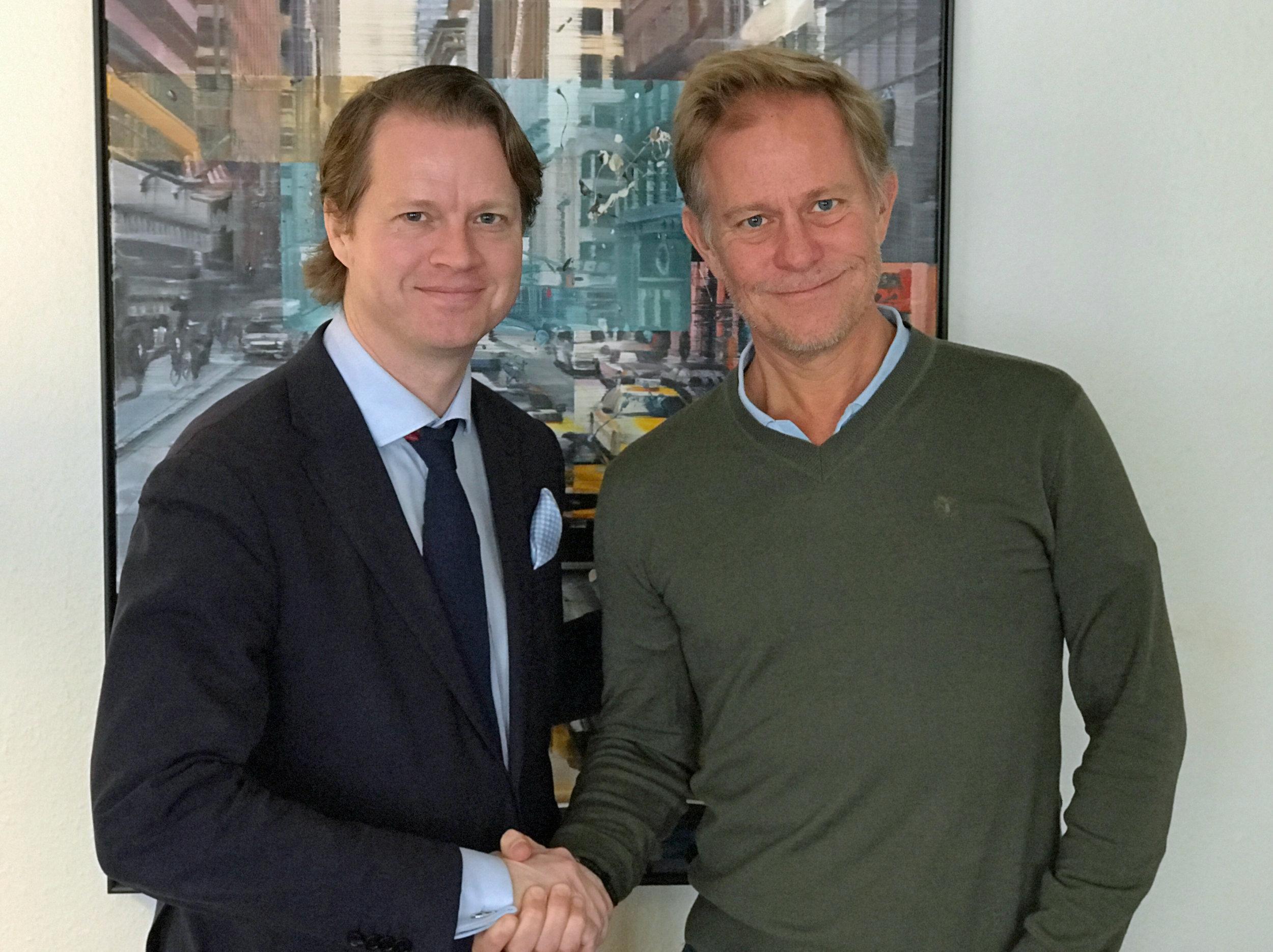 Mikael Pawlo och Patrik Rosén