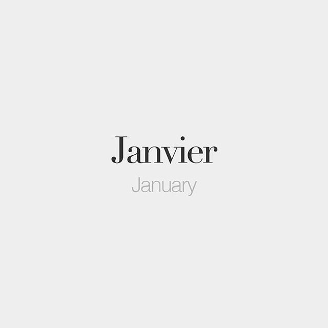 LA NOUVELLE ANNÉE . . Happy New Year! #2019 #janvier #january #frenchwords