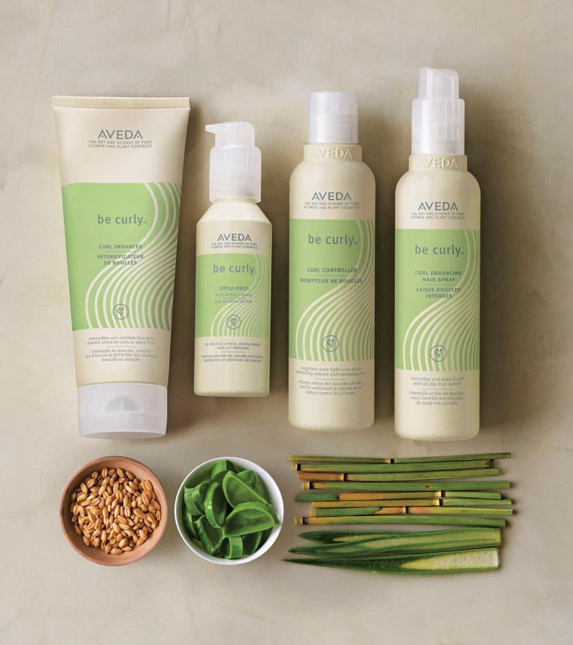 BE CURLY >>   La linea di prodotti dedicata ai capelli ricci