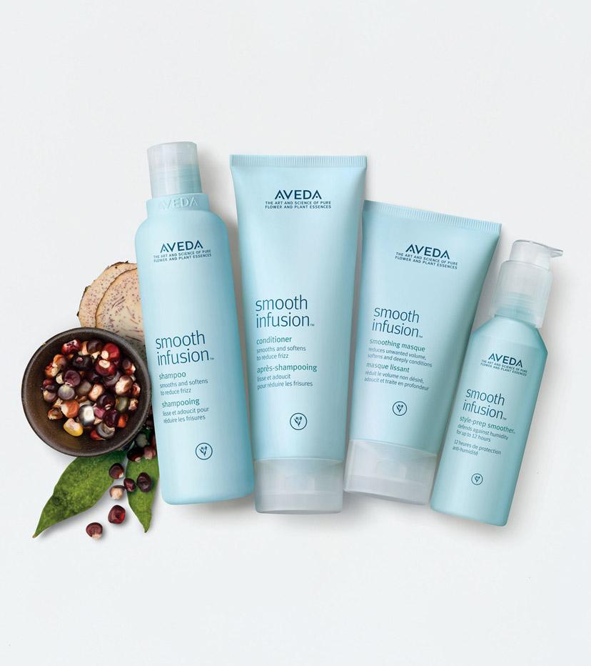 SMOOTH INFUSION >>   Prodotti per i capelli lisci