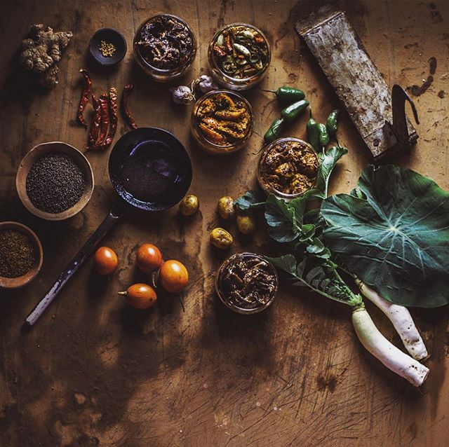 Ingredients for making Nepali Achar #pickle #achar #spices #fresh #veg #vegie #foodie #nepalesefood #nepalifood #foodofnepal ##ingredients #tasteofnepal #flavoursofnepal