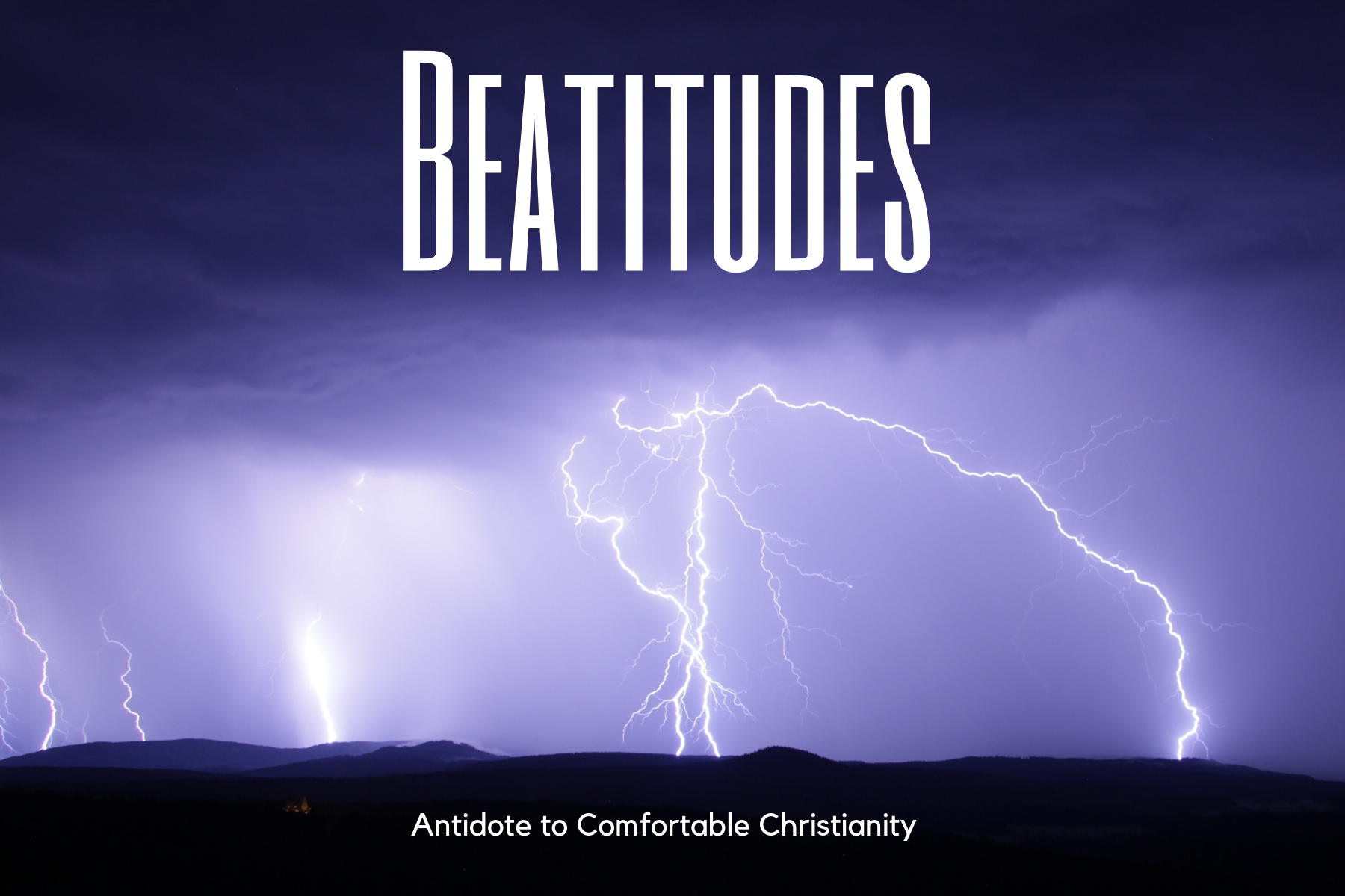Antidote to Comfortable Christianity