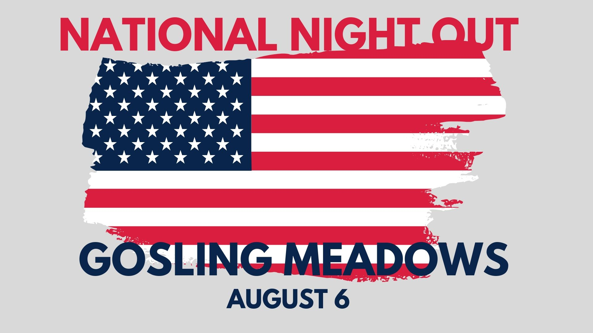 This is another amazing opportunity for our church to serve and shine. the portsmouth police department have asked us to host the gosling meadows national night out for the fifth time! It would be great if everyone who was available could show up to help or even get off work early to join in the fun. we will be sending out an email with more details but please save the date and be there if you can!