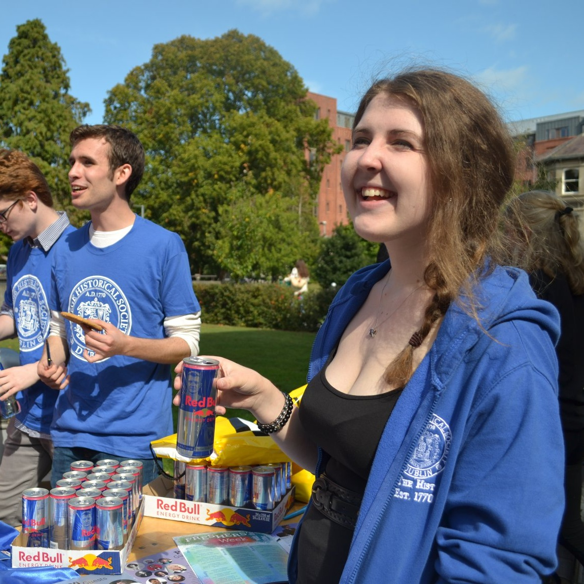 Campus-wide outreach with ample branding opportunities
