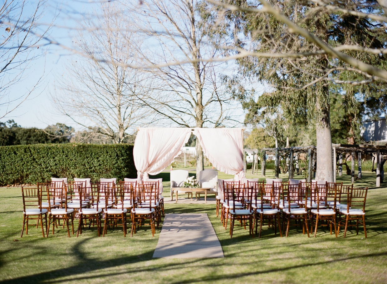 Wedding Ceremony Furniture Perth Bride + Groom