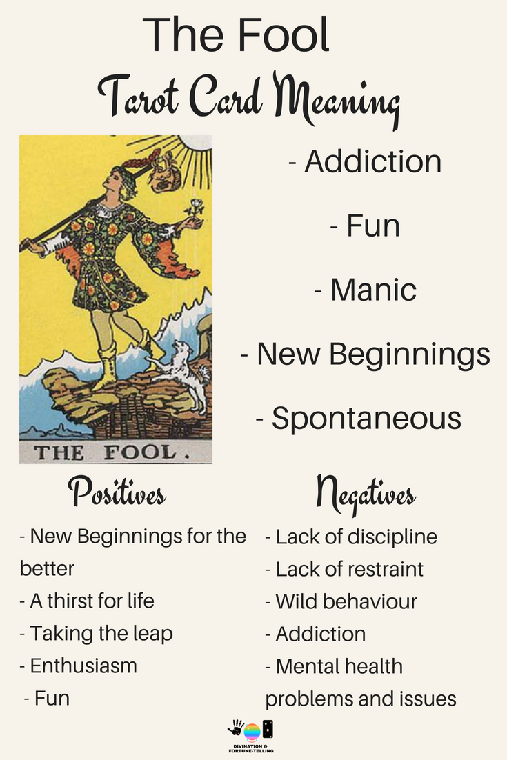 The Fool: Predictive Tarot Card Meanings — Lisa Boswell