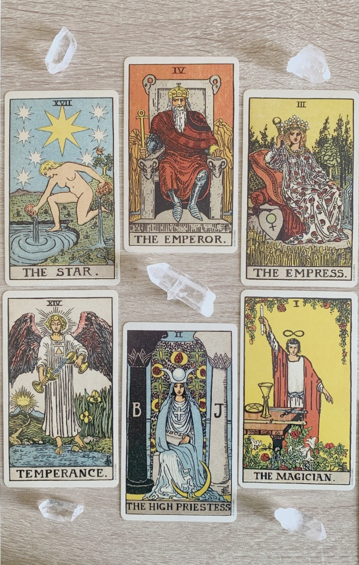 An example of a Tarot reading with a high proportion of Majors