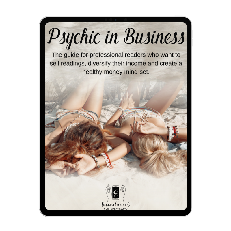 Psychic in Business E-book on iPad.png