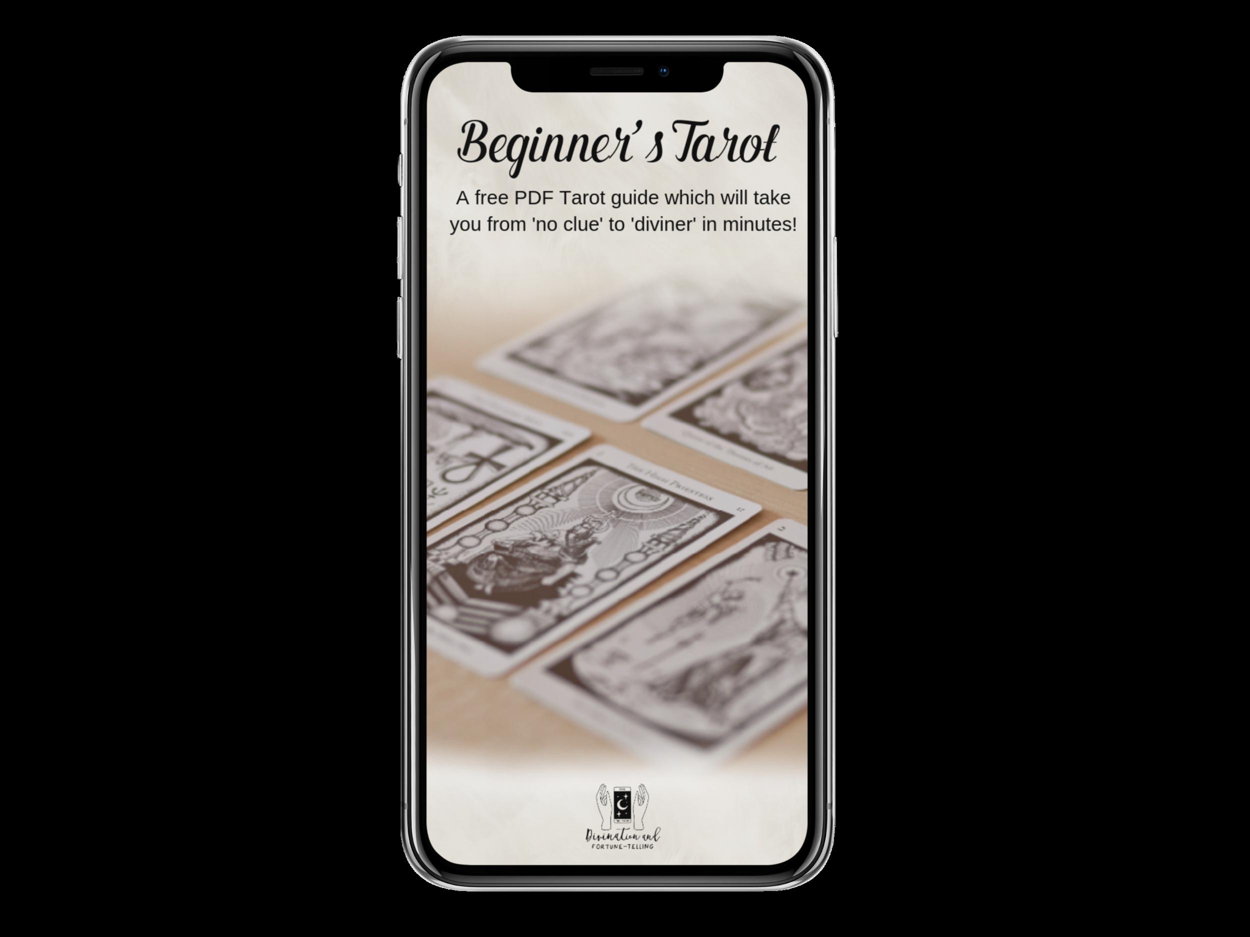 Beginner's Tarot PDF on Iphone.png