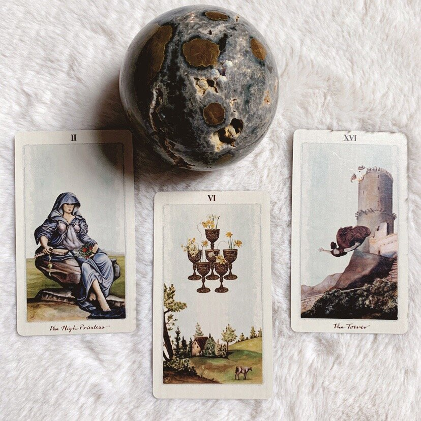 Tarot has a very long history. While starting out as a game it has evolved into one of the most popular (if not the most popular) methods of divination & fortune telling).