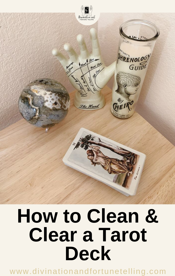 Art Illustration: How do you care for your Tarot deck? What are the different methods of cleaning and clearing your Tarot deck? What steps do you need to take to make sure that your Tarot deck is well taken care of? How often should you clean and clear your Tarot deck? If you are asking any of these questions regarding cleaning and clearing your Tarot deck, this post will point you in the right direction!