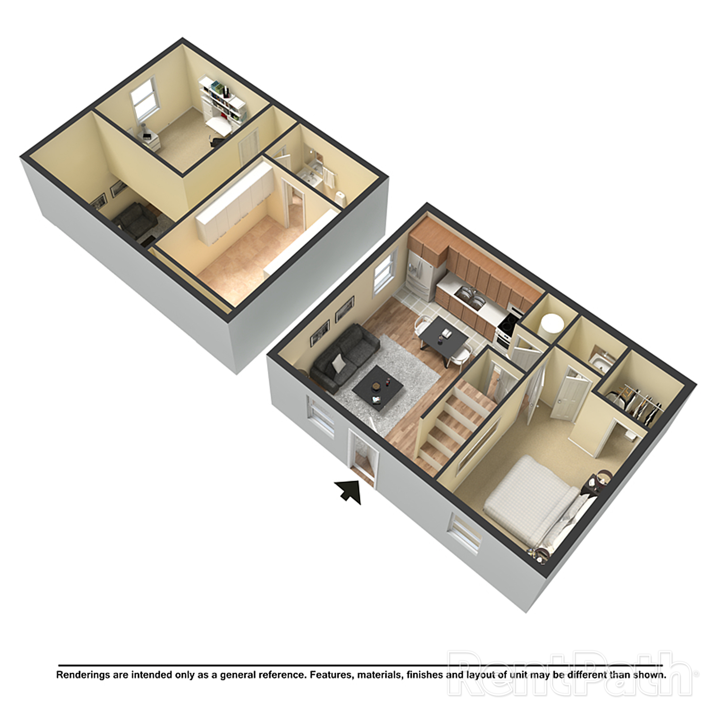 3d 2 Bedroom courtyard floorplan.jpg