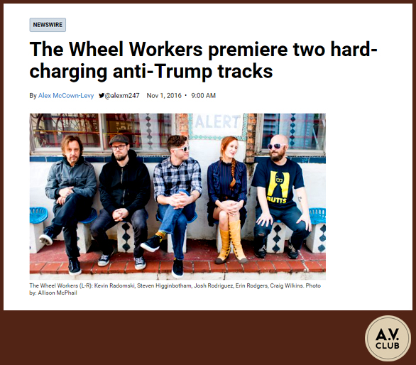 THE WHEEL WORKERS | A.V. CLUB