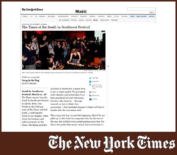 BLACK MOTH SUPER RAINBOW | NEW YORK TIMES