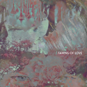 """""""Falling / Standing"""" 7-inch  cover art.  Click for hi-res ."""