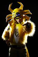 Peelander-Yellow  as photographed by Daisuke Yoshida. Click for hi-res.