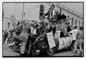 Queercore: How To Punk A Revolution   : (Caption) Homocore float at SF Gay Pride 1988: GB Jones and Justin Vivian Bond at center. Photo credit: Dan Nicoletta.  Click for hi-res.
