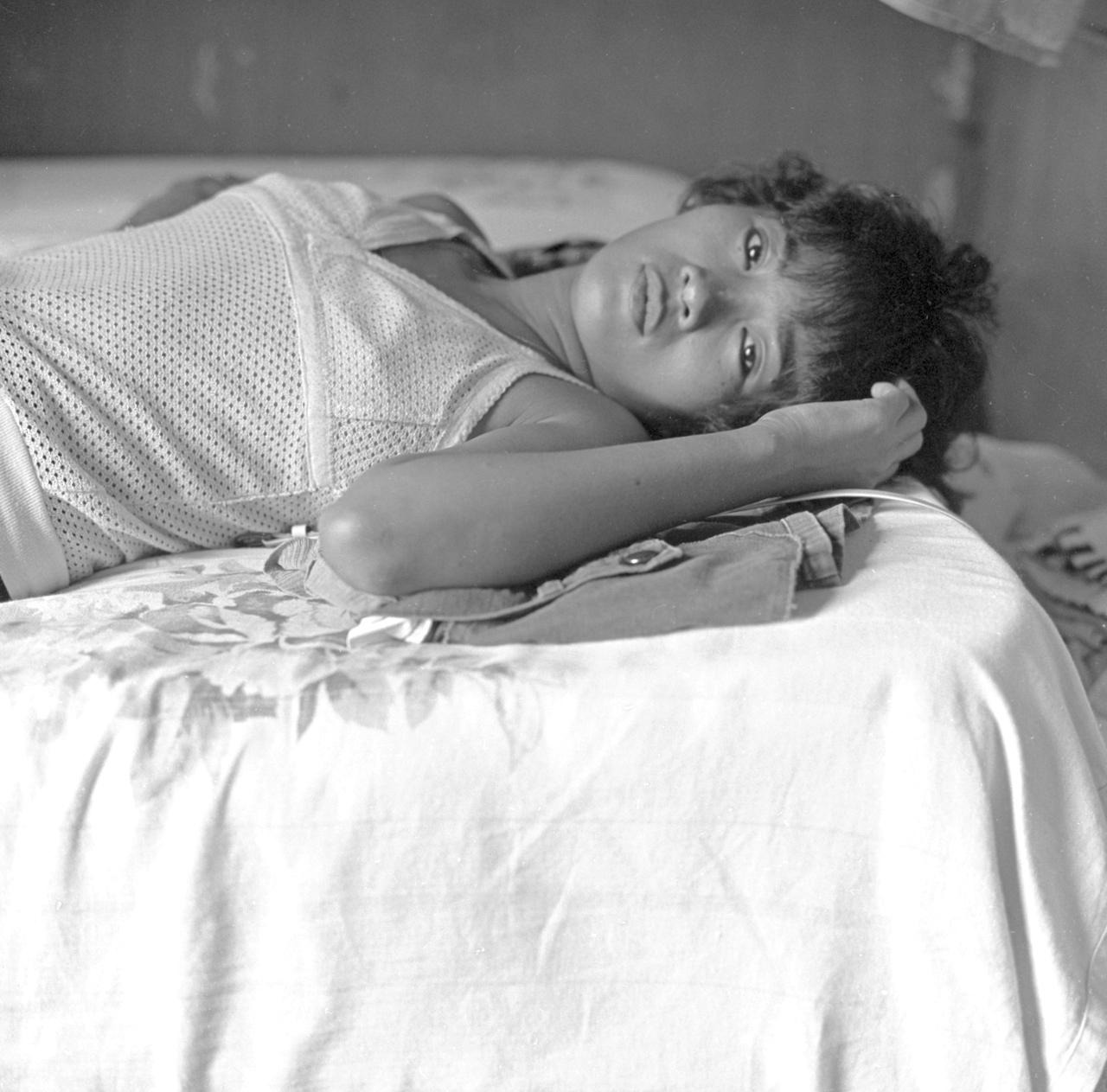 H. in Room, Bario Boretto, Subic Bay 1991