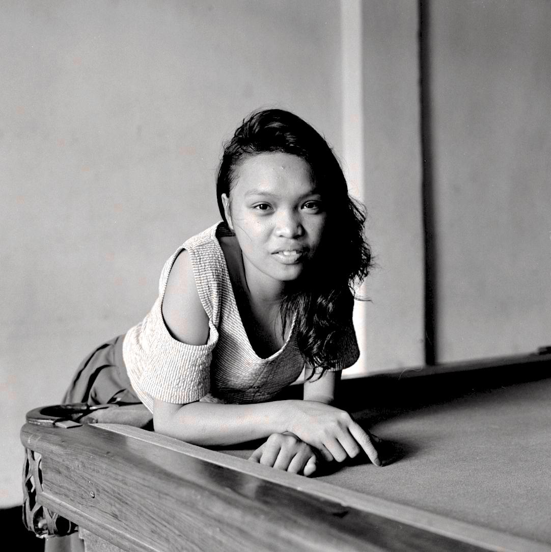 Pool Table Portrait, Subic City, 1989
