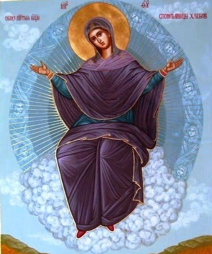 Assumption of Our Lady icon