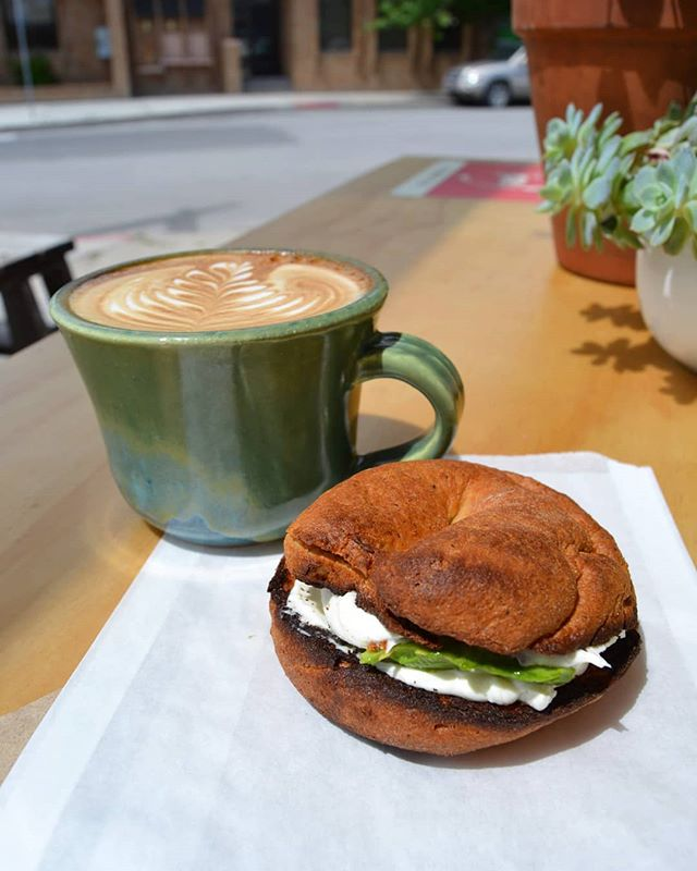 Need a snack with that coffee?  We've got you covered! Plain, Everything and Gluten Free Bagles.  Get em' with cream cheese, avocado or both... Maybe put a lil freahly ground Himalayan salt and black pepper on top.