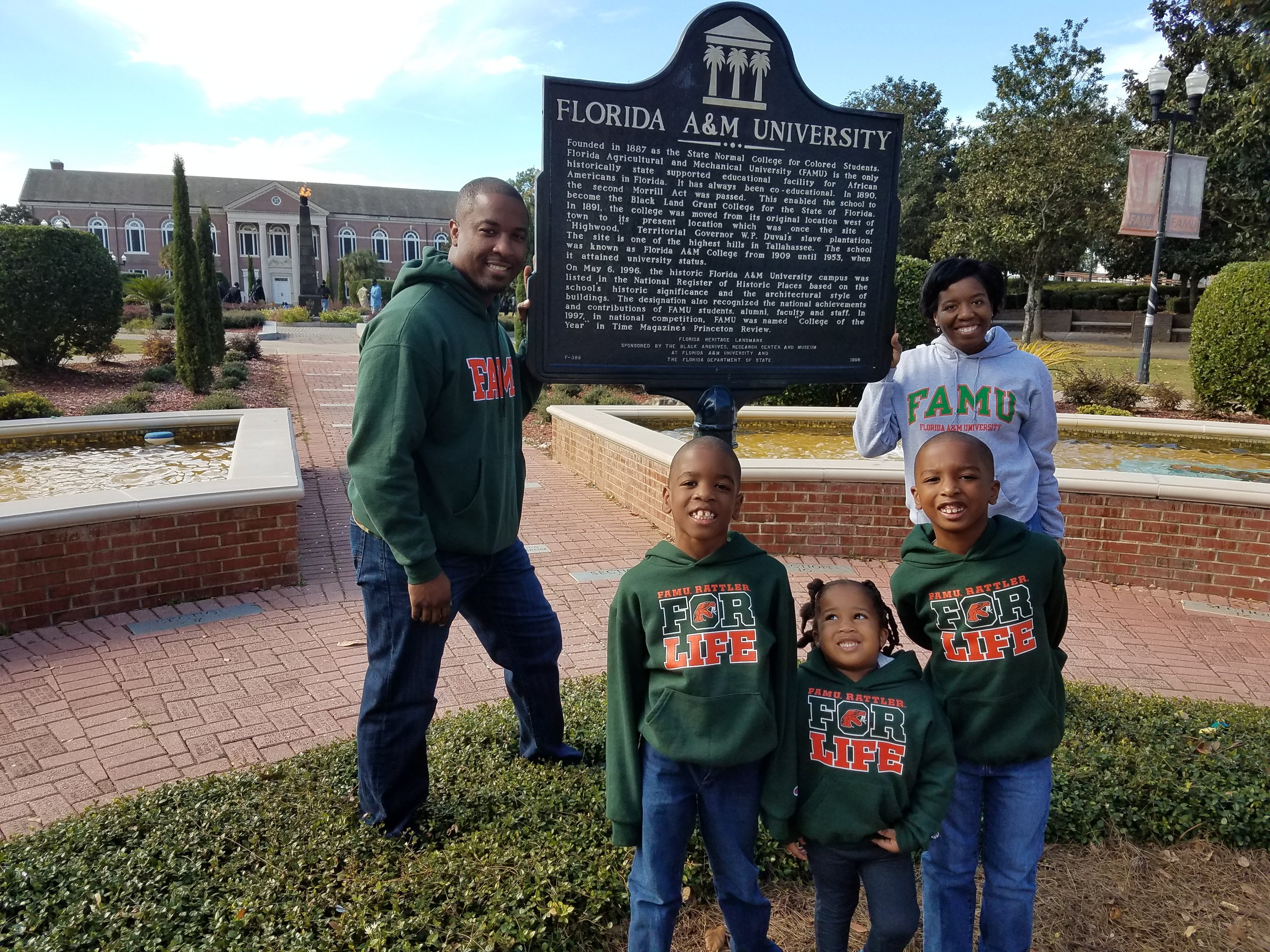 Houstons on the campus of Florida A&M University